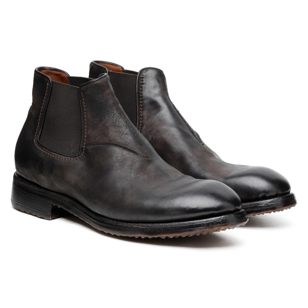 Beatles ankle boots in dark brown...