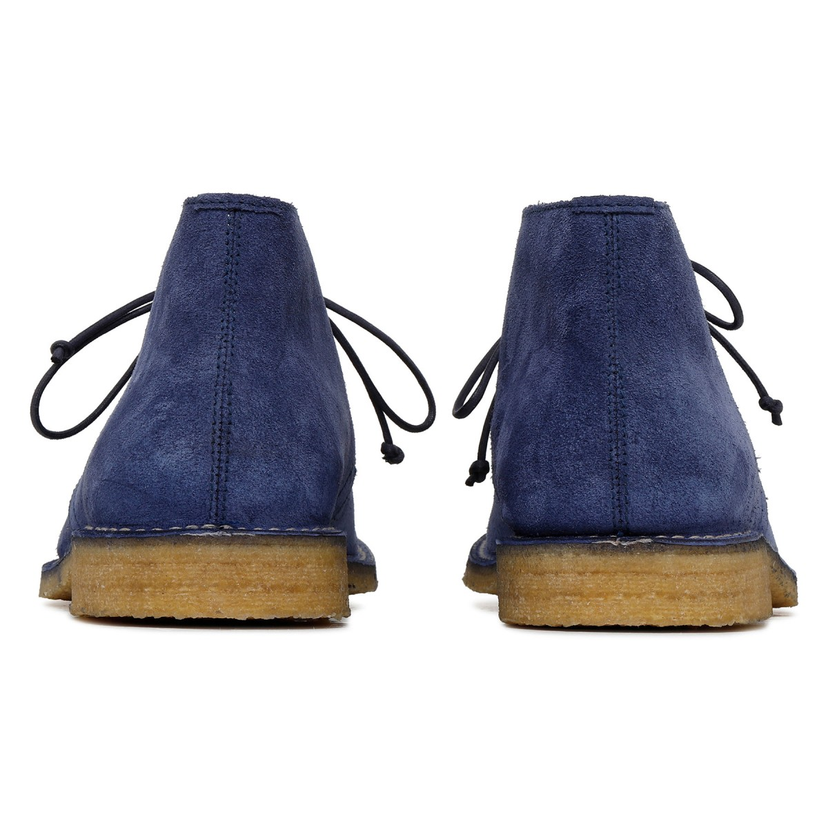 Londra blue suede ankle boots
