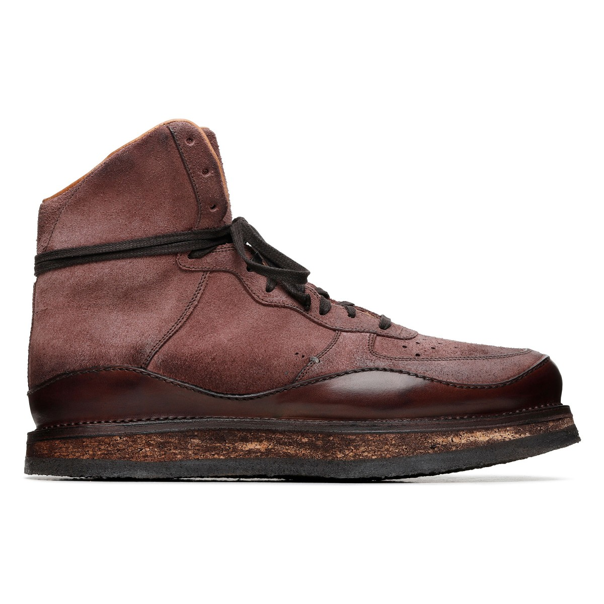 Tokyo suede leather ankle boots